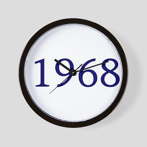 1968 Wall Clock