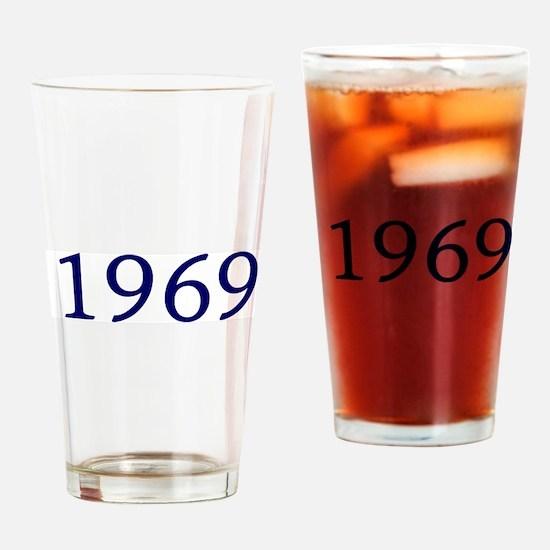 1969 Drinking Glass