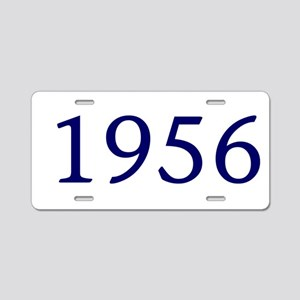 1956 Aluminum License Plate