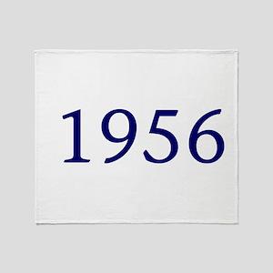 1956 Throw Blanket