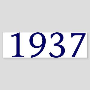1937 Sticker (Bumper)
