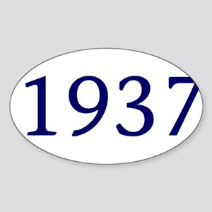 1937 Sticker (Oval)