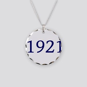 1921 Necklace Circle Charm