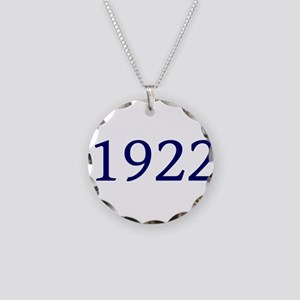 1922 Necklace Circle Charm