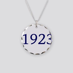 1923 Necklace Circle Charm