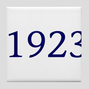 1923 Tile Coaster