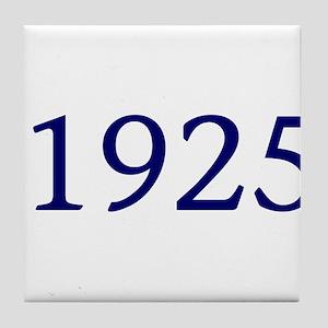 1925 Tile Coaster