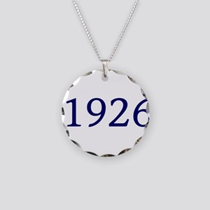 1926 Necklace Circle Charm