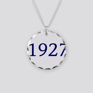 1927 Necklace Circle Charm