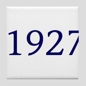 1927 Tile Coaster