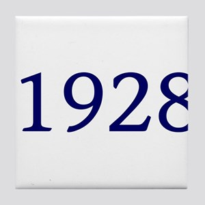 1928 Tile Coaster