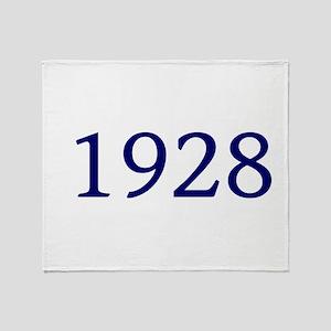 1928 Throw Blanket