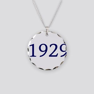1929 Necklace Circle Charm