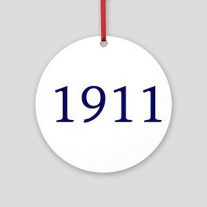 1911 Ornament (Round)