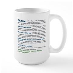 Worship a Librarian Mug