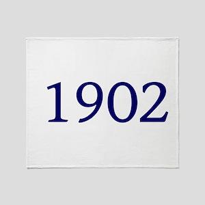 1902 Throw Blanket