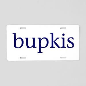 Bupkis Aluminum License Plate
