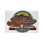 Landi's Brooklyn Pork Store Rectangle Magnet