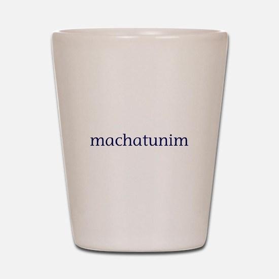 Machatunim Shot Glass