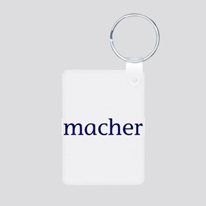 Macher Aluminum Photo Keychain
