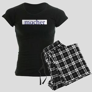 Macher Women's Dark Pajamas