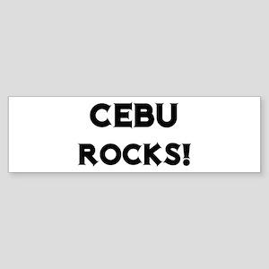 Cebu Rocks! Bumper Sticker