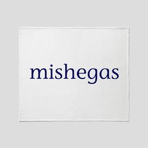 Mishegas Throw Blanket