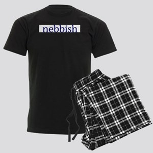Nebbish Men's Dark Pajamas