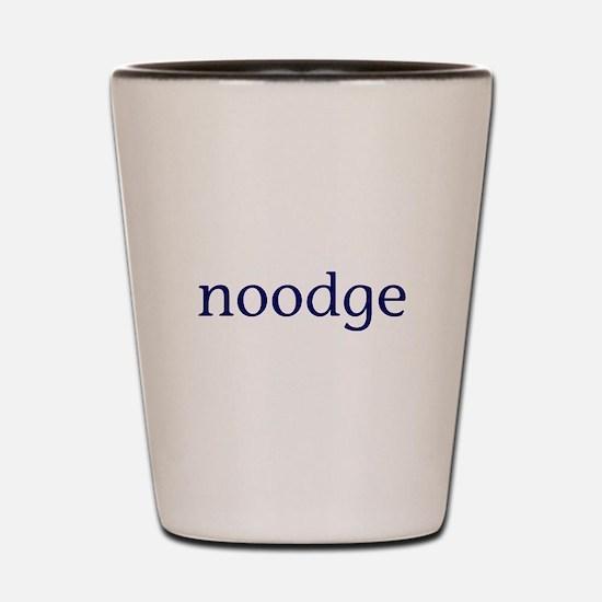Noodge Shot Glass