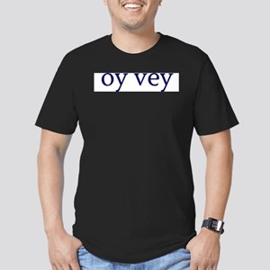 Oy Vey Men's Fitted T-Shirt (dark)