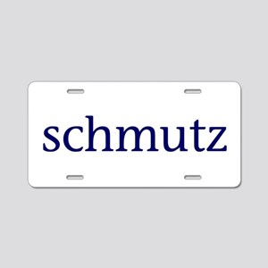 Schmutz Aluminum License Plate