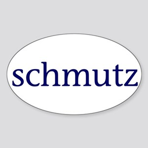 Schmutz Sticker (Oval)