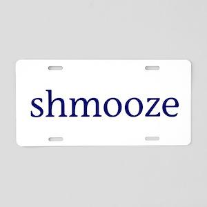 Shmooze Aluminum License Plate