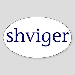 Shviger Sticker (Oval)