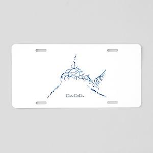 Bull Shark Aluminum License Plate
