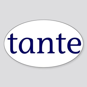 Tante Sticker (Oval)