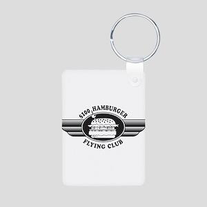 Flying Club Aluminum Photo Keychain