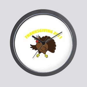Thanksgiving 2011 Wall Clock