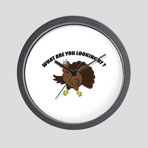 What are you looking at ? Wall Clock