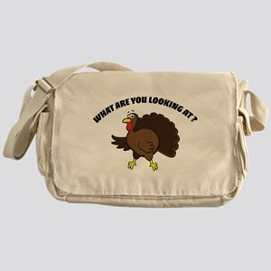 What are you looking at ? Messenger Bag