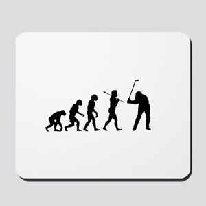 Evolved To Golf Mousepad