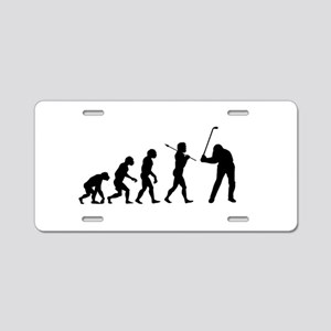 Evolved To Golf Aluminum License Plate