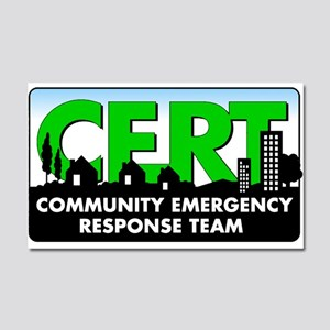Cert Car Magnet 20 X 12
