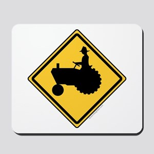 Tractor Sign Mousepad