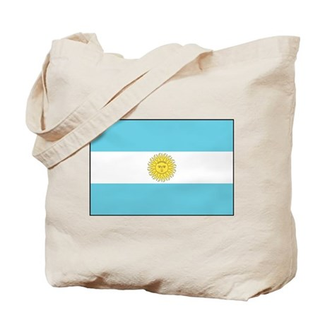 Argentina National Flag Tote Bag