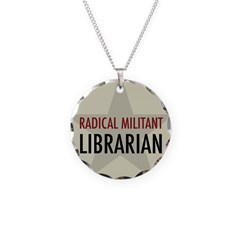 Radical Librarian Necklace