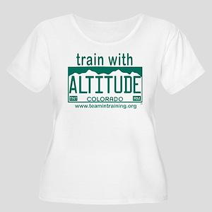 Design #2 - Train with Altitude copy Plus Size T-S