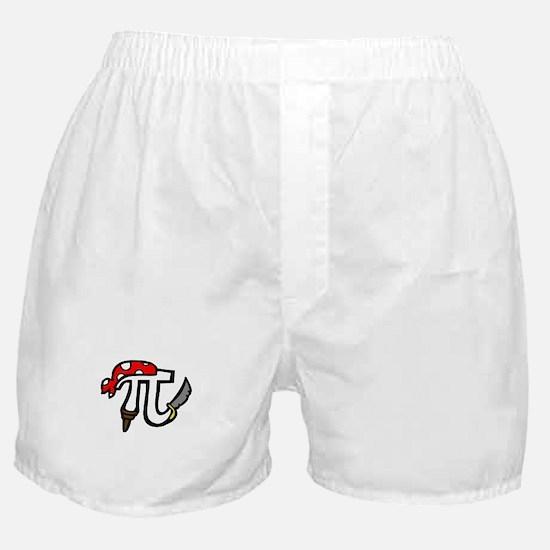 Pi Pirate Boxer Shorts