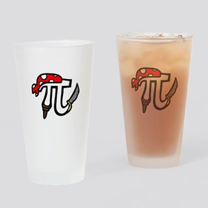 Pi Pirate Drinking Glass