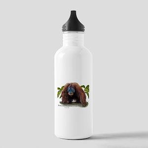 Sumatran Orangutan Stainless Water Bottle 1.0L